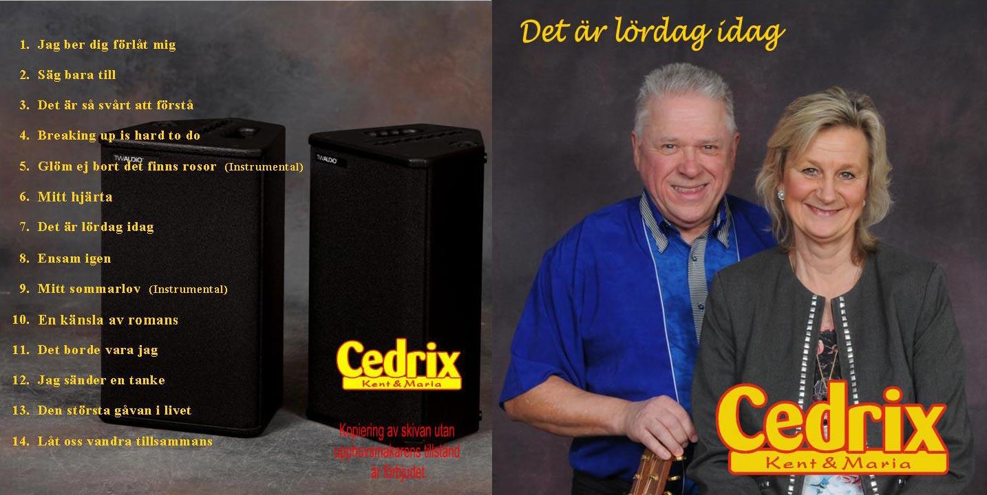 Omslag till Cedrix cd-skiva 2001